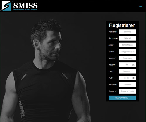 Webseite Smiss Trainingonline